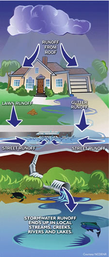 Stormwater Runoff Diagram
